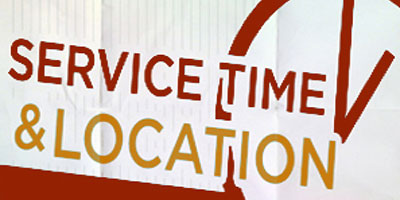 ServiceTimeAndLocation