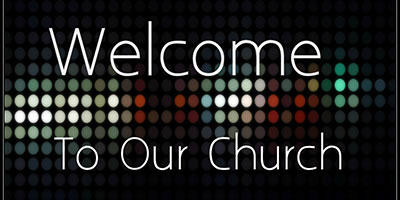 Welcome-To-Our-Church-Banner